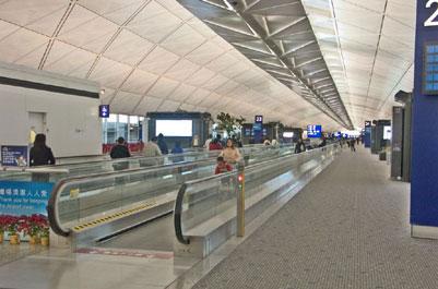 הונג קונג – שדה התעופה כעיר עתידנית
