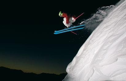 סקי – אבקה לבנה