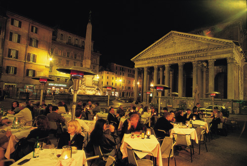 רומא בלילה: לא נבנתה בלילה אחד