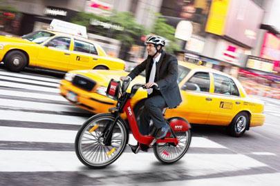 מדוושים בניו יורק: עשרת אלפים אופניים יועמדו להשכרה