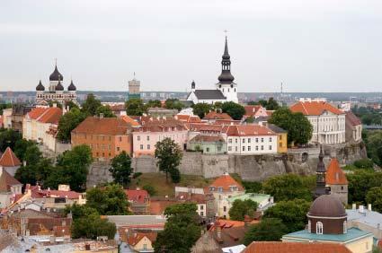 אסטוניה: בין חומותיה של טאלין