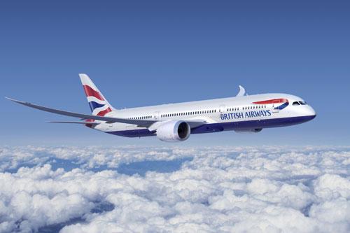בריטיש איירווייס תטיס שני מיליון נוסעים בחגים