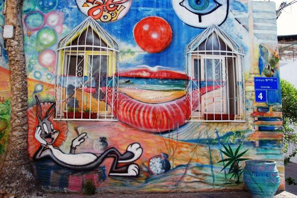 ציורי קיר בתל אביב – טיול בציור