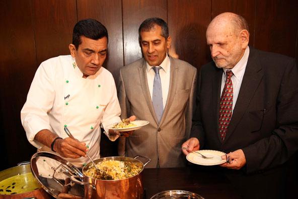 השף החשוב בהודו בביקור רשמי בישראל