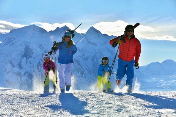 חופשות סקי משפחתיות בשווייץ