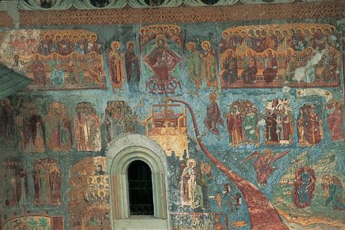 מולדובה, צפון רומניה – אמנות בכנסיות ומנזרים