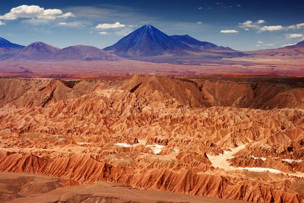 מדבר אטקאמה, צ'ילה: 400 שנים ללא גשם