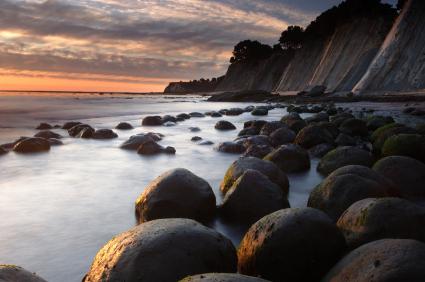 צפון קליפורניה: רגליים במים, ראש בעננים