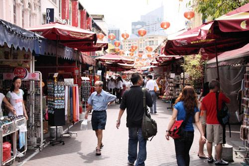 סינגפור: מסלול טיול בצ'יינה טאון