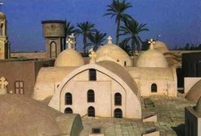ואדי נתרון – מנזרים קופטיים במצרים