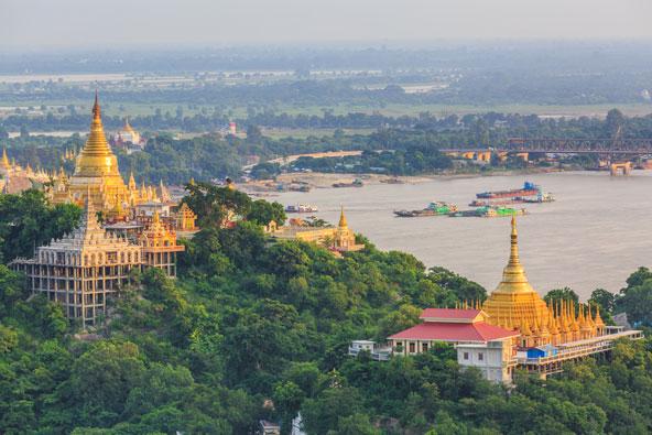 שייט נהרות בבורמה – בין מקדשים למנזרים