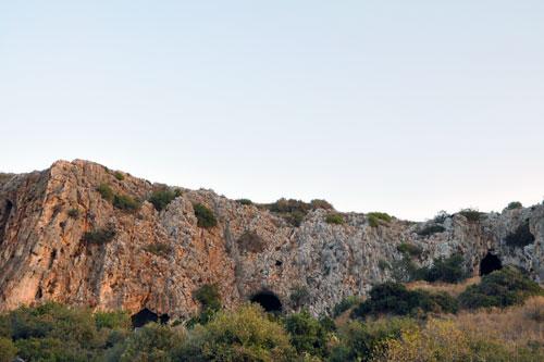 טקס לציון הכרזת נחל מערות כאתר מורשת