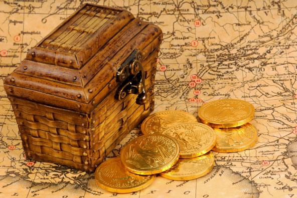 חפש את המטמון: בעקבות אוצרות אבודים