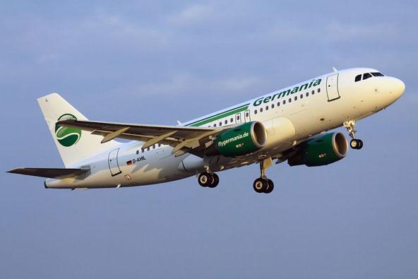 גרמניה איירליינס: מקום ראשון בחברות תעופה בהמבורג
