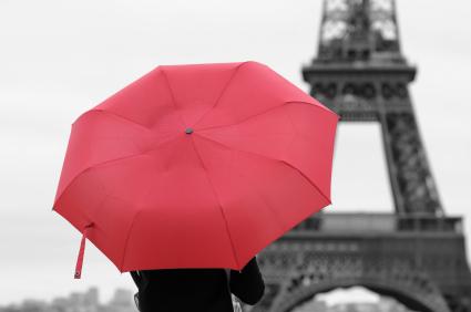 פריז עם ילדים, בגשם