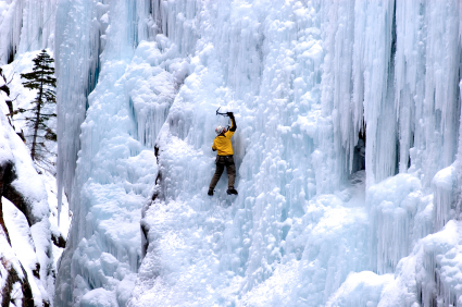 לטפס על הקירות – טיפוס קרח בקולורדו