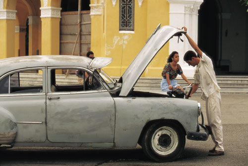 מכוניות עתיקות, קובה