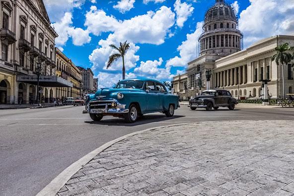 אתרים ואווירה – קובה