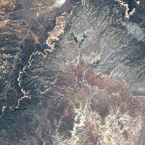 מפת הפארק הלאומי ברייס קניון
