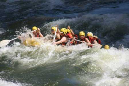 זמבזי: רפטינג על הנהר