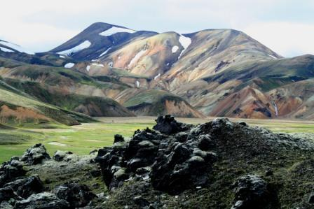 טיול באיסלנד –  קרח ותמרות עשן