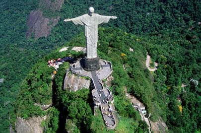 פסל ישו הגואל בריו