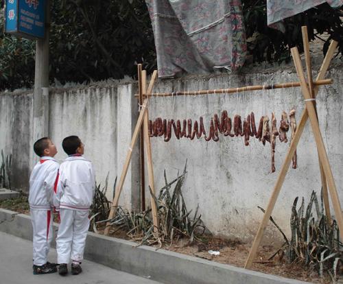 גם בסין ילדים הם שמחה