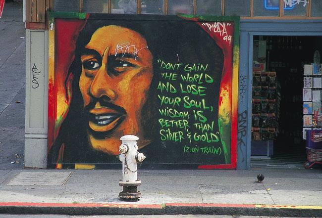 סן פרנסיסקו – בעקבות ציורי הקיר
