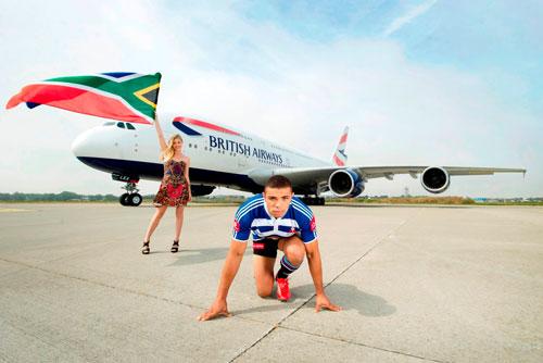 בריטיש איירווייס: תחרות ריצה נגד מטוס