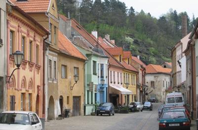 הרובע היהודי בטרביץ', צ'כיה