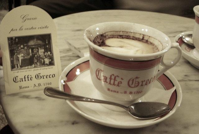 בתי קפה מיתולוגיים באירופה
