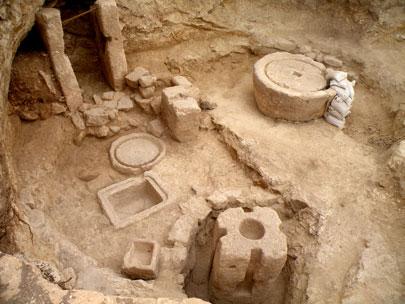 בית בד שלם בן 1,400 שנה התגלה במודיעין