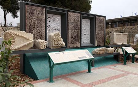 גן ארכיאולוגי נחנך בכנסת