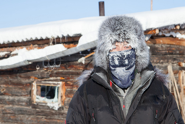 סרטון: חורף במקום הקר בעולם