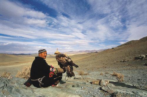 העיט – ידידו הטוב של הצייד המונגולי