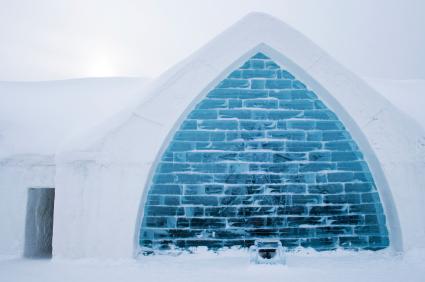 מלון קרח בקוויבק, קנדה