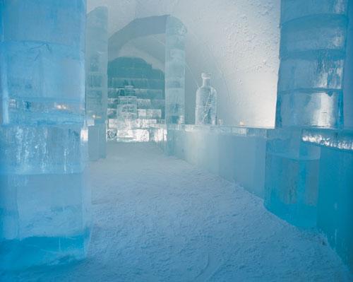 ארמון הקרח בשוודיה