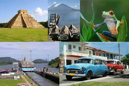 מרכז אמריקה – גיאוגרפיה