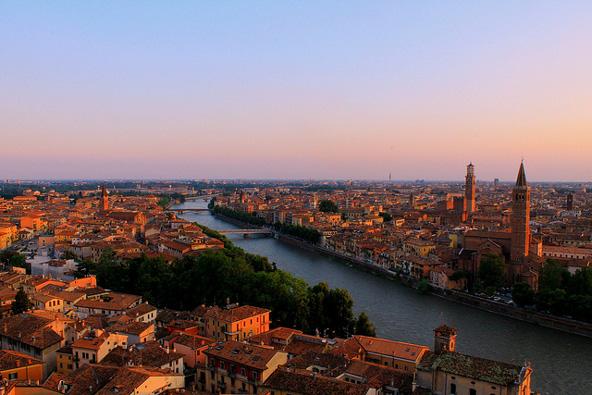 ורונה: טיול בעיר של רומיאו ויוליה