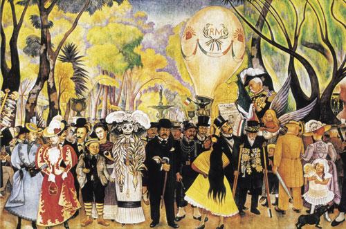 מקסיקו: אמנות ציורי הקיר