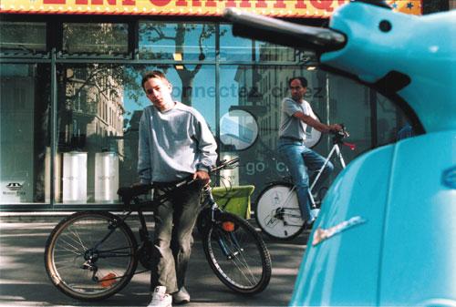 רוכבי האופניים