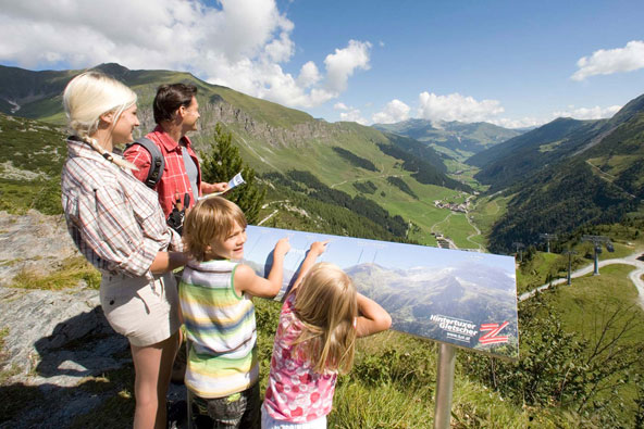 טירול, אוסטריה עם הילדים