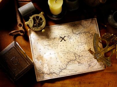 אוצרות אבודים – האיקס על המפה