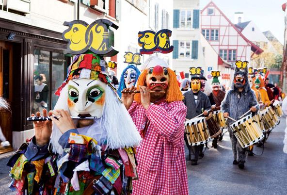 חגיגה שוויצרית: הקרנבל של באזל