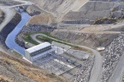 הופסקה בניית סכר ענק בתורכיה