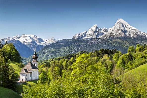 האלפים הבווארים – תענוגות גרמניה ההררית