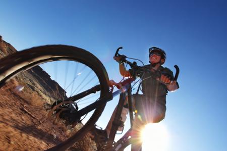 עין עקב באופניים – ירידה לצורך עליה