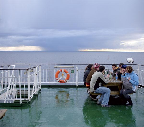 הים הבלטי – והמעבורת שטה