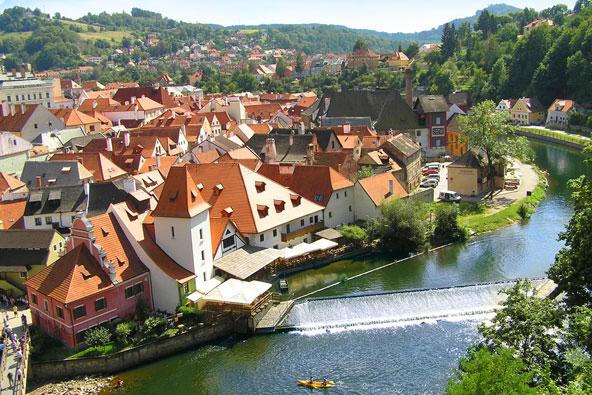 דרום בוהמיה, צ'כיה – חופשה משפחתית
