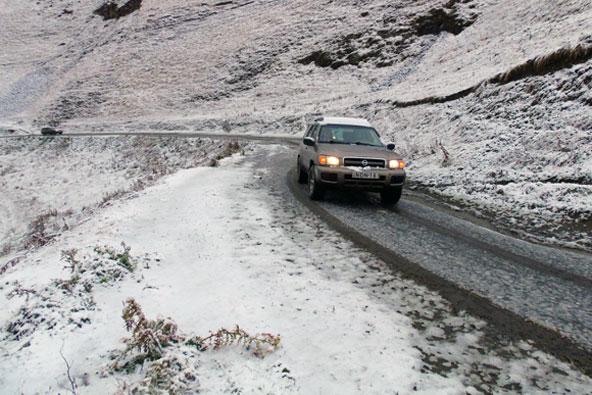 גאורגיה בחורף – טיול ג'יפים